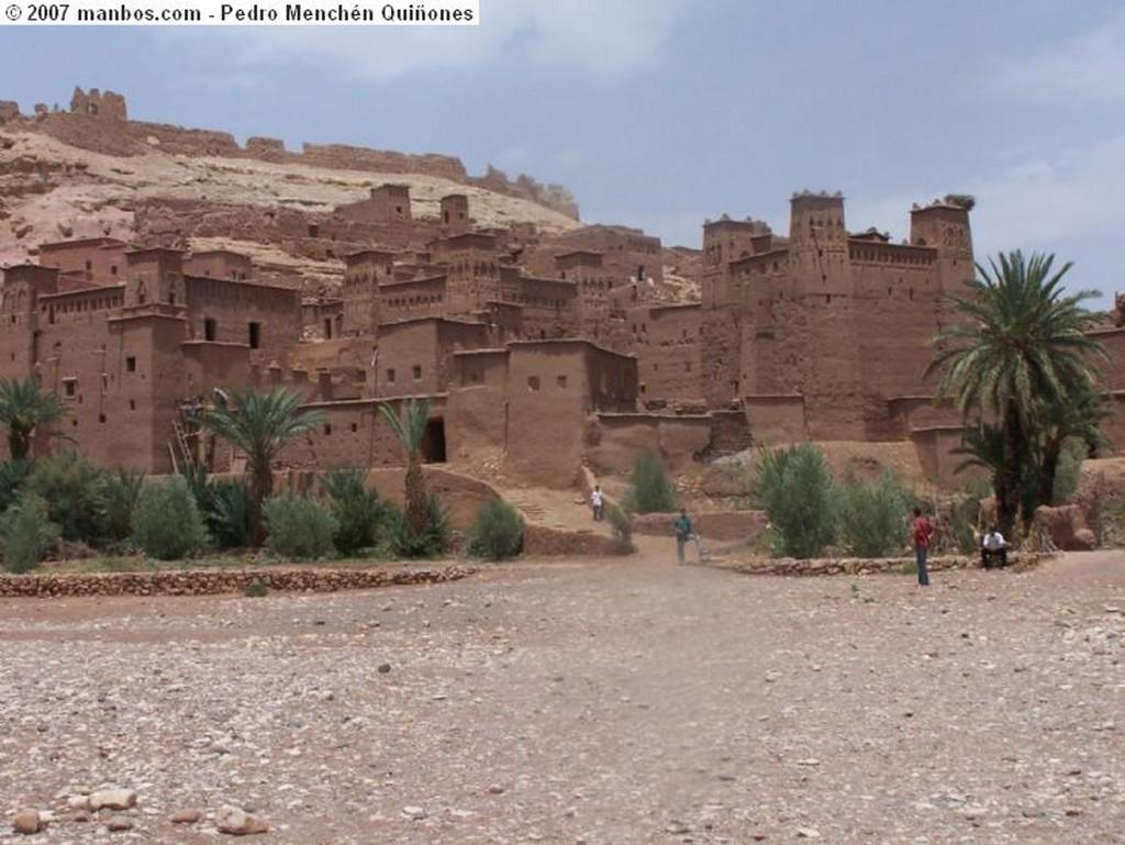 Gran Atlas Kashba bereber Marruecos