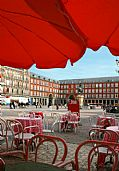 Plaza Mayor de Madrid, Madrid, España