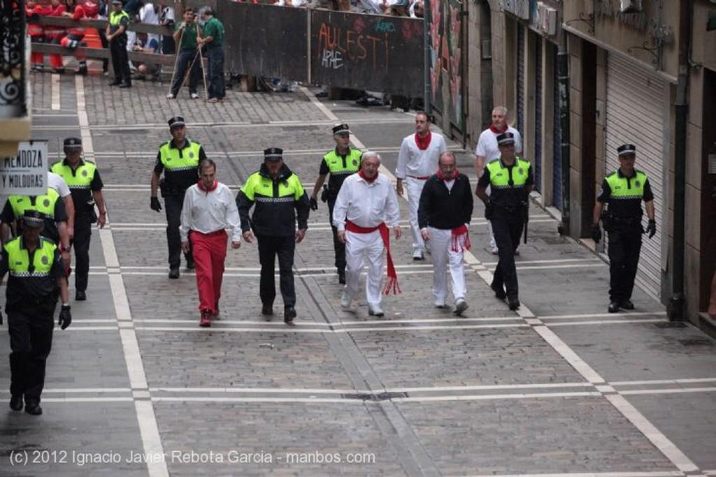 Pamplona Entrando en la Estafeta Navarra