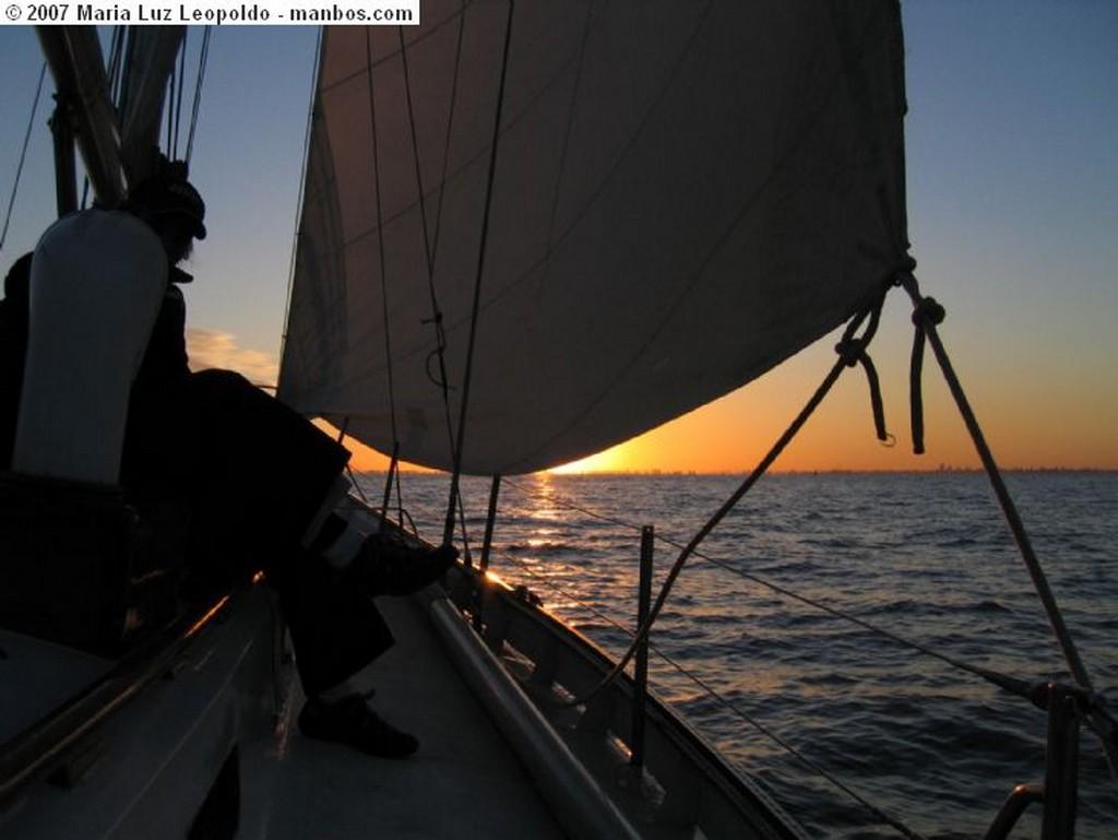 Buenos Aires Puesta del sol en el Río de la Plata Buenos Aires