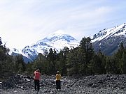 Camara Canon PowerShot S50 Volcan Lanin - Cordillera de los Andes Maria Luz Leopoldo HUECHULAFQUEN Foto: 11424