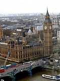 Foto de Londres, Big Ben, Reino Unido - Big Ben desde London Eye