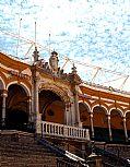 Plaza de toros, Sevilla, España