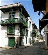 Calle Tipica , Cartagena , Colombia