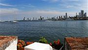 Vista de La Cartagena Moderna , Cartagena , Colombia