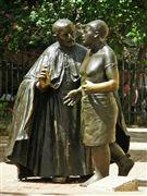 Escultura de San Pedro Claver , Cartagena , Colombia