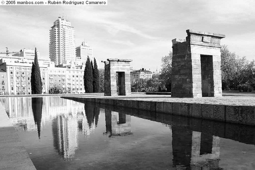 Madrid Templo de Debod II Madrid