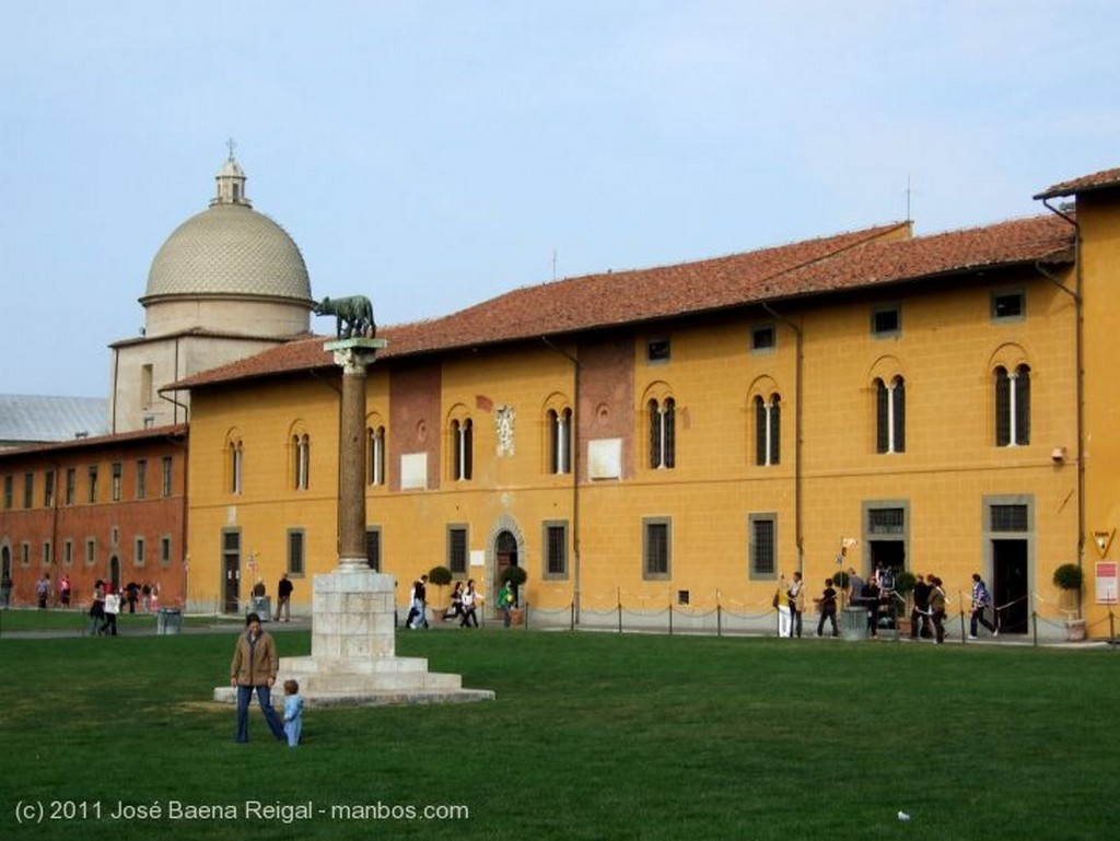 Pisa La Torre Inclinada Toscana