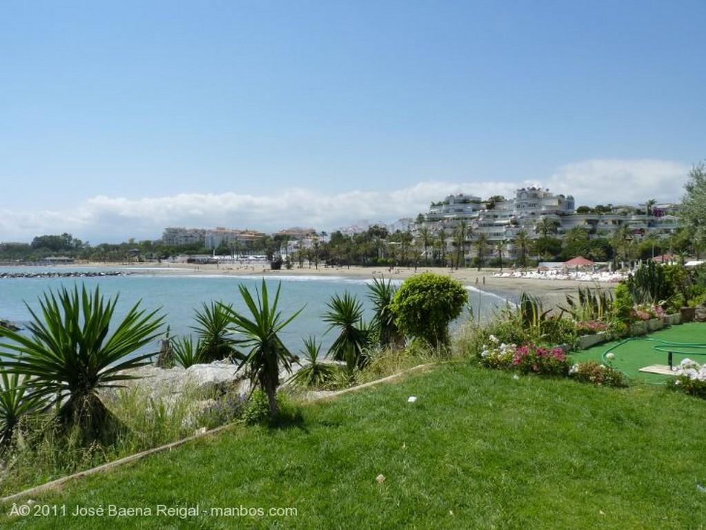 Marbella Entrando por la bocana Malaga