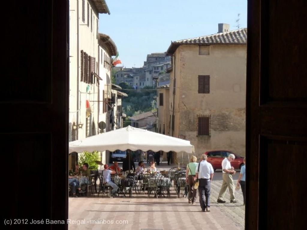 San Gimignano Pulpito Siena