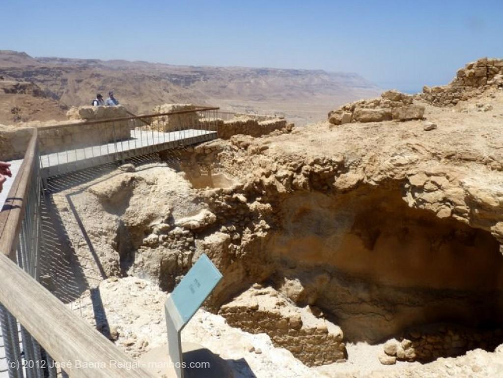 Masada Pasadizos y miradores Distrito Meridional