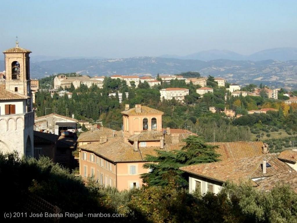 Perugia Torre de los Sciri Umbria