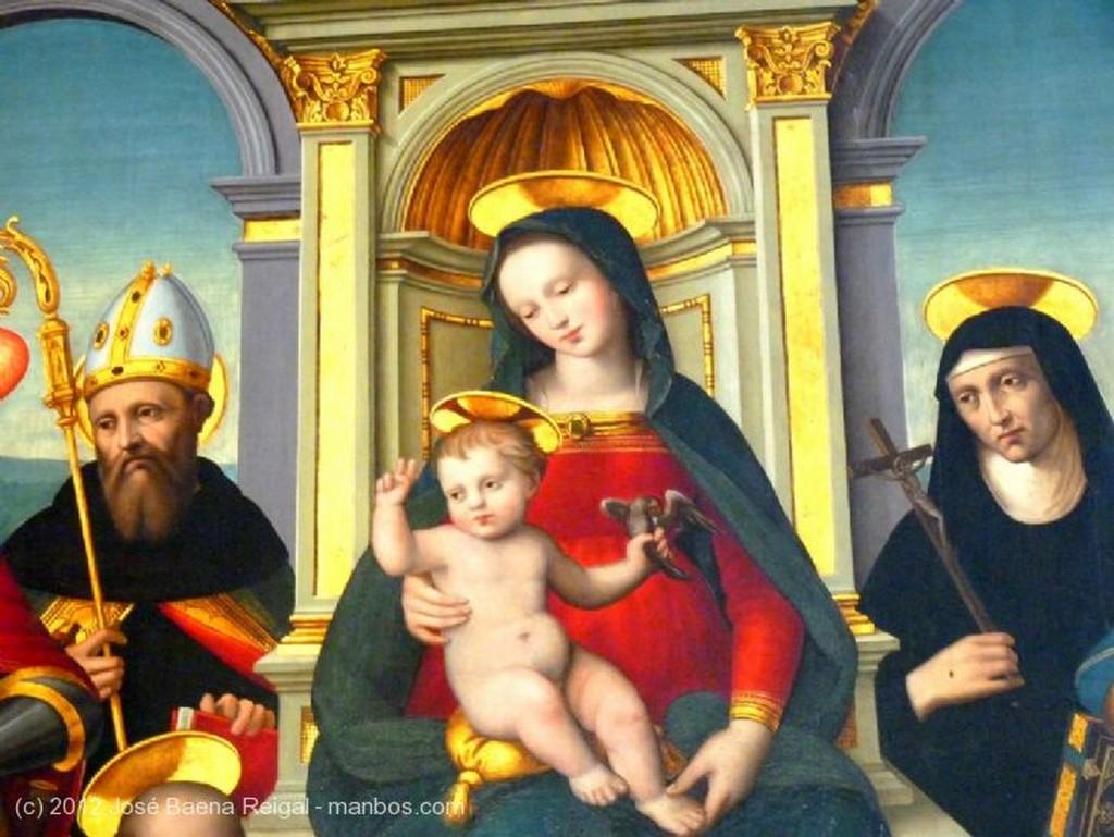 San Gimignano Predicaciones de San Agustin  Siena
