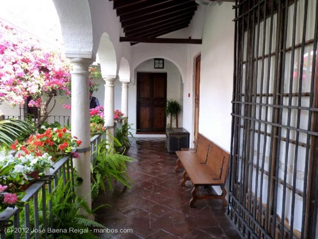 Malaga Patio del Museo de Artes Populares Malaga