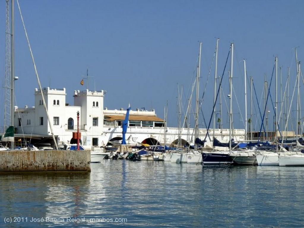 Malaga Muelle transatlantico Malaga