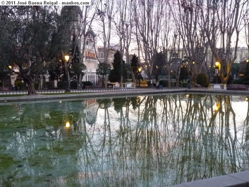Madrid Anocheciendo Madrid
