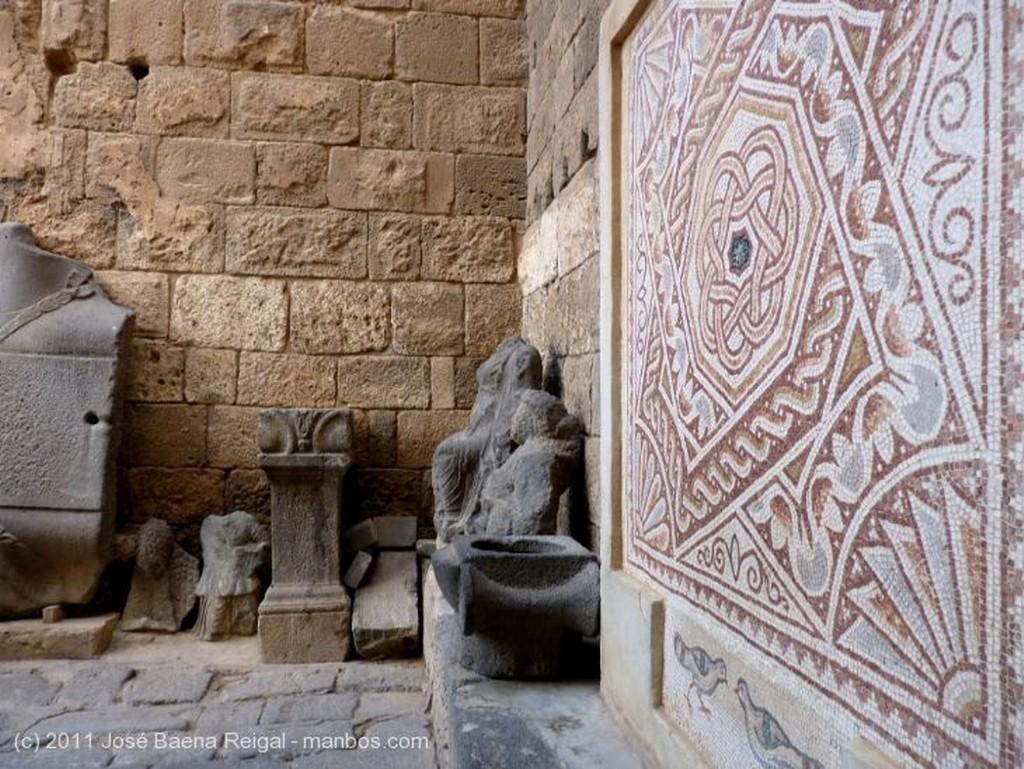Bosra Mosaico romano Dera