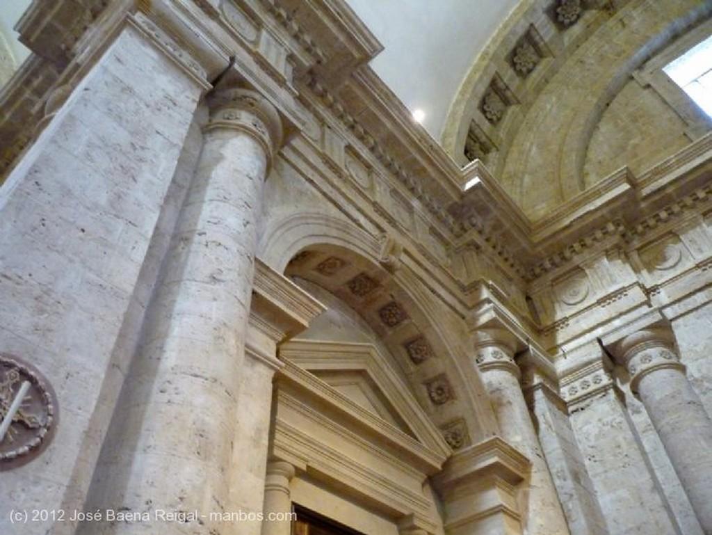 Montepulciano Capilla mayor Siena