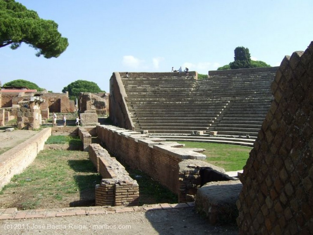 Ostia Antica Horrea Epaphroditiana Roma
