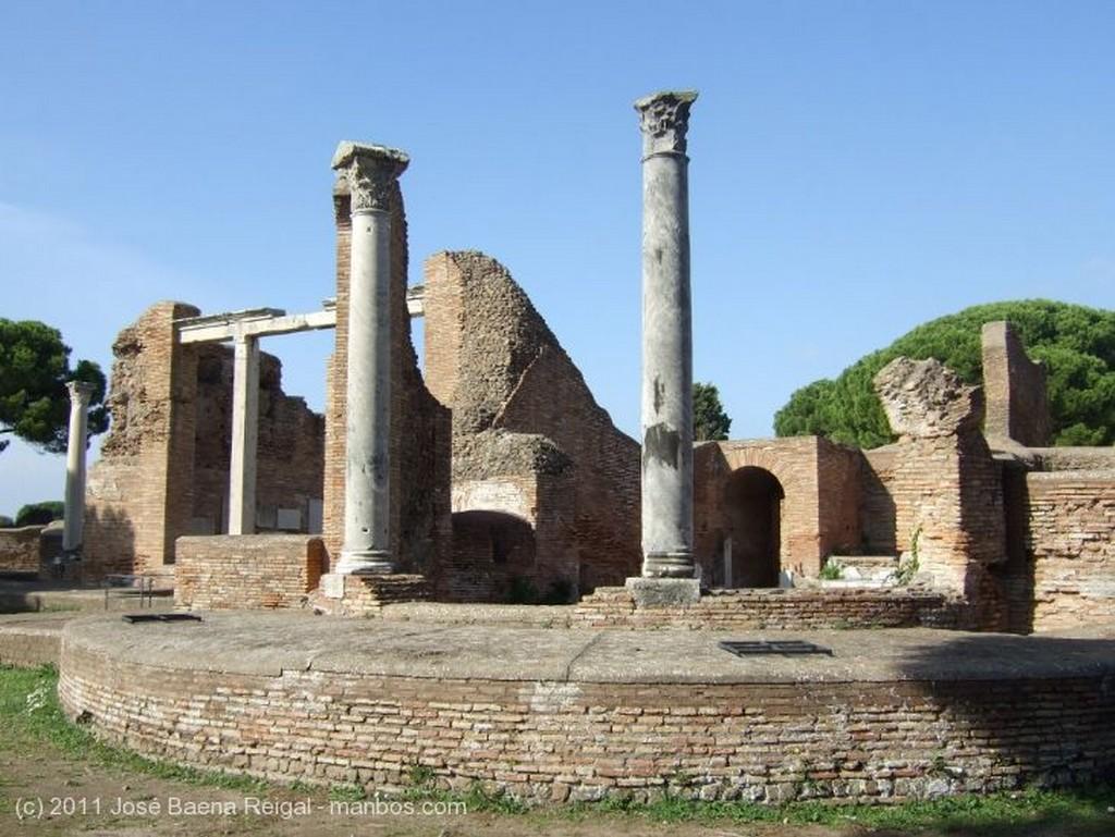Ostia Antica Termas del Foro Roma