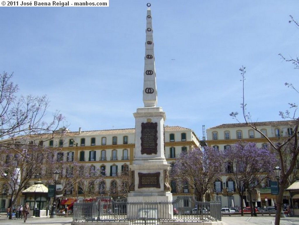 Malaga Plaza de la Marina Malaga