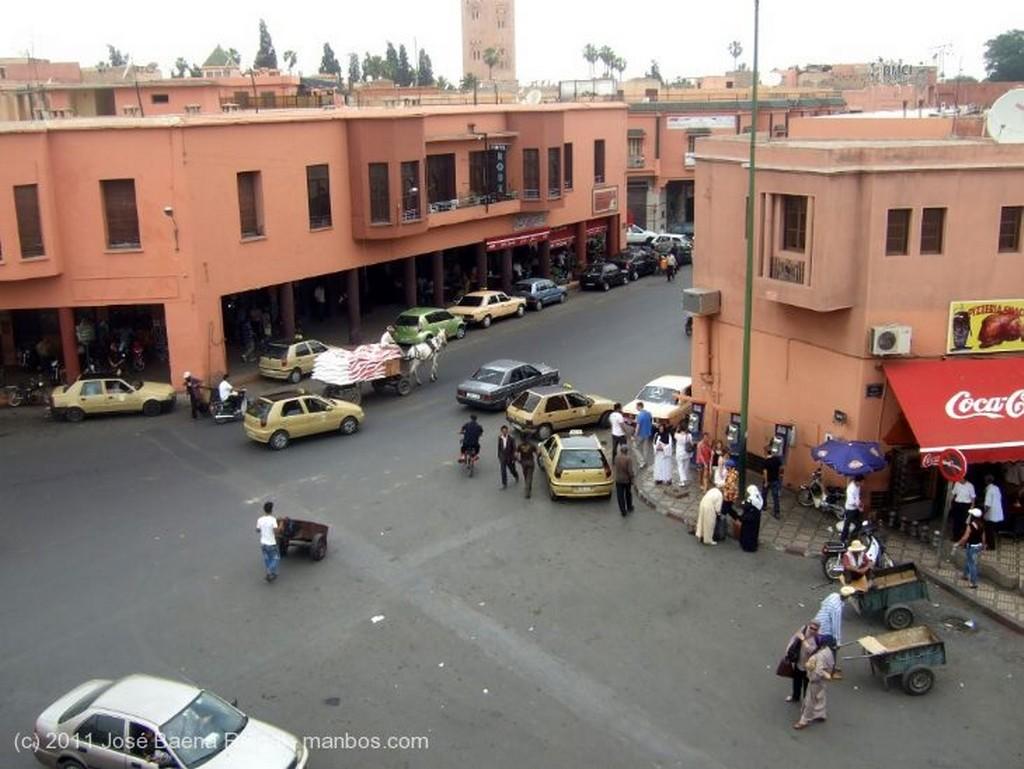 Marrakech Minarete de la Koutoubia Marrakech