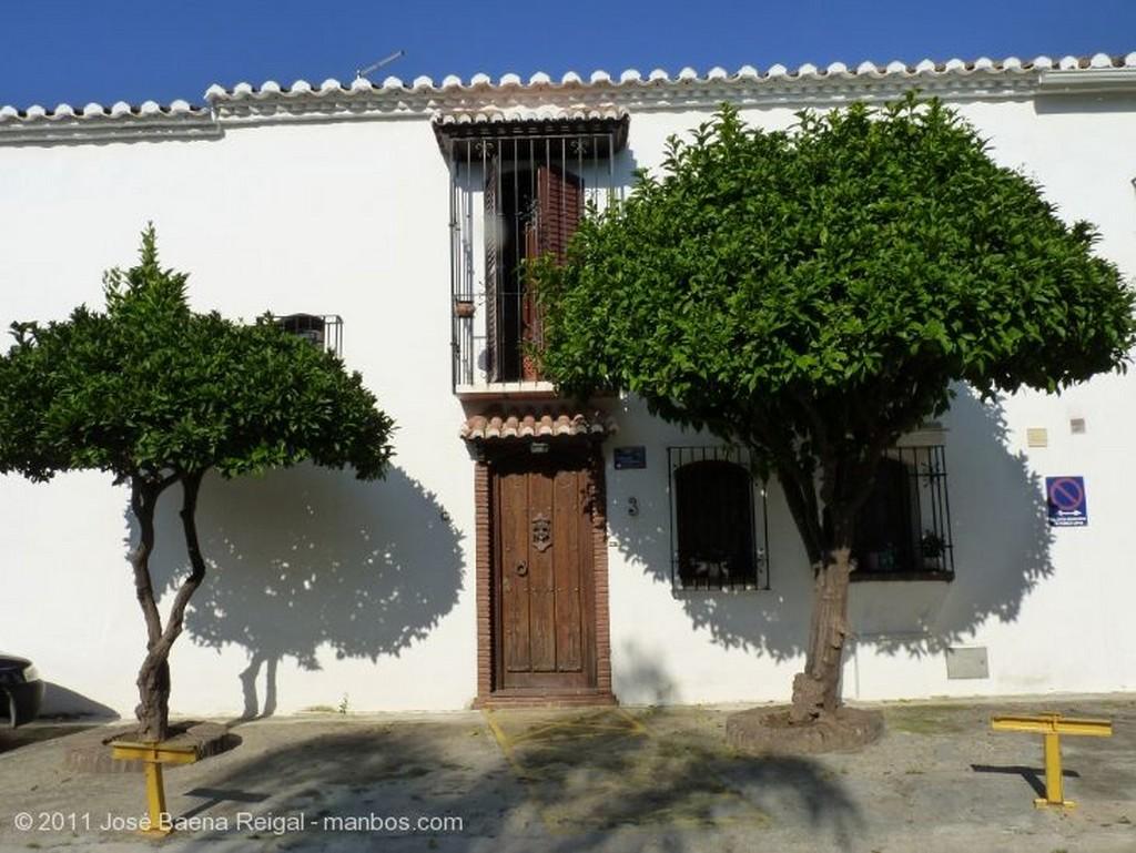 Fuengirola Reflejos en la fuente Malaga