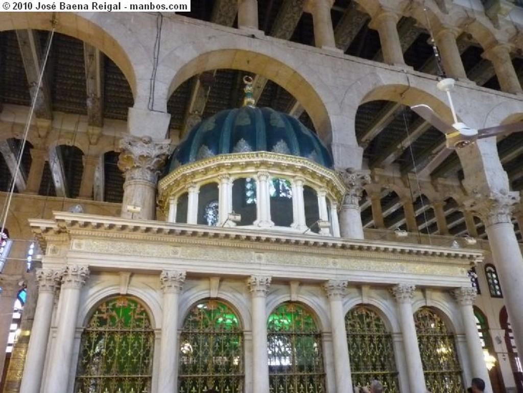 Damasco Gran Mezquita de Los Omeyas Damasco Damasco