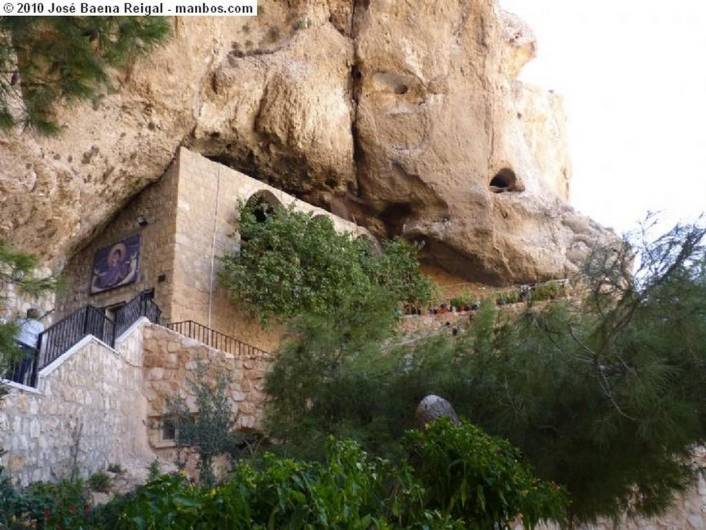 Maalula Casas de Maalula Siria
