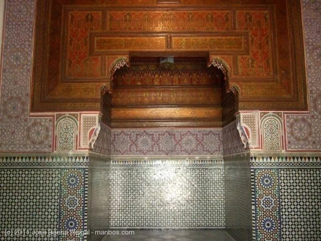 Marrakech Zocalo de azulejos Marrakech