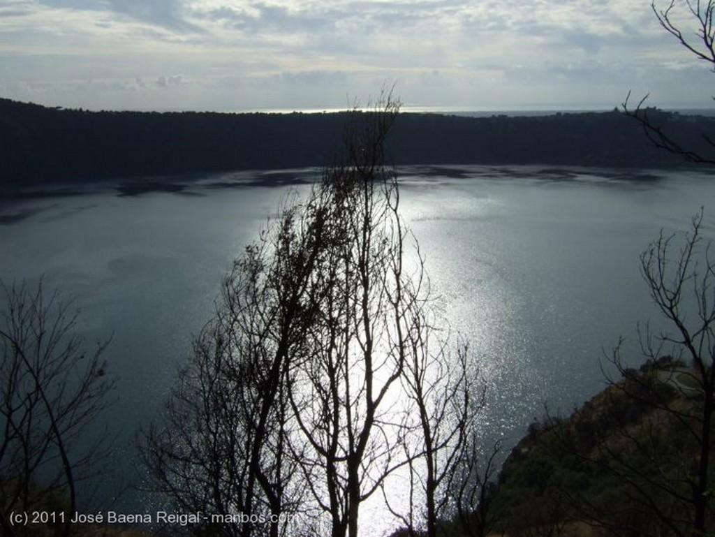 Castel Gandolfo Paseos junto al Lago Lazio