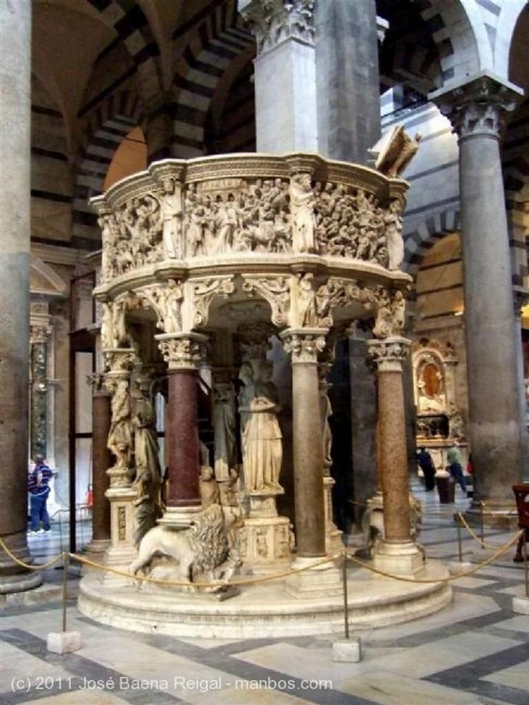 Pisa Artesonado del crucero Toscana