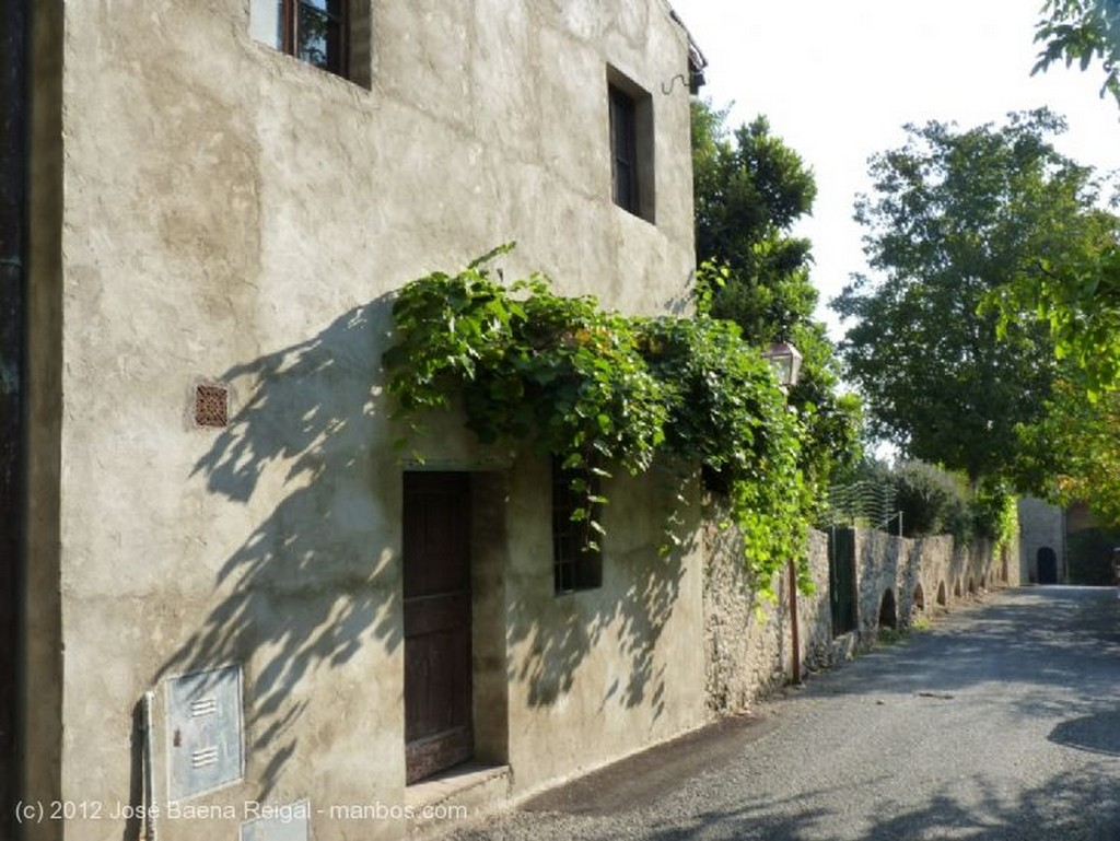 San Gimignano Vista de las torres Siena