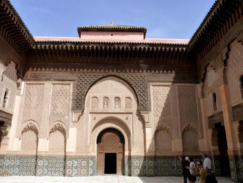 Marrakech Arco con yeserias Marrakech