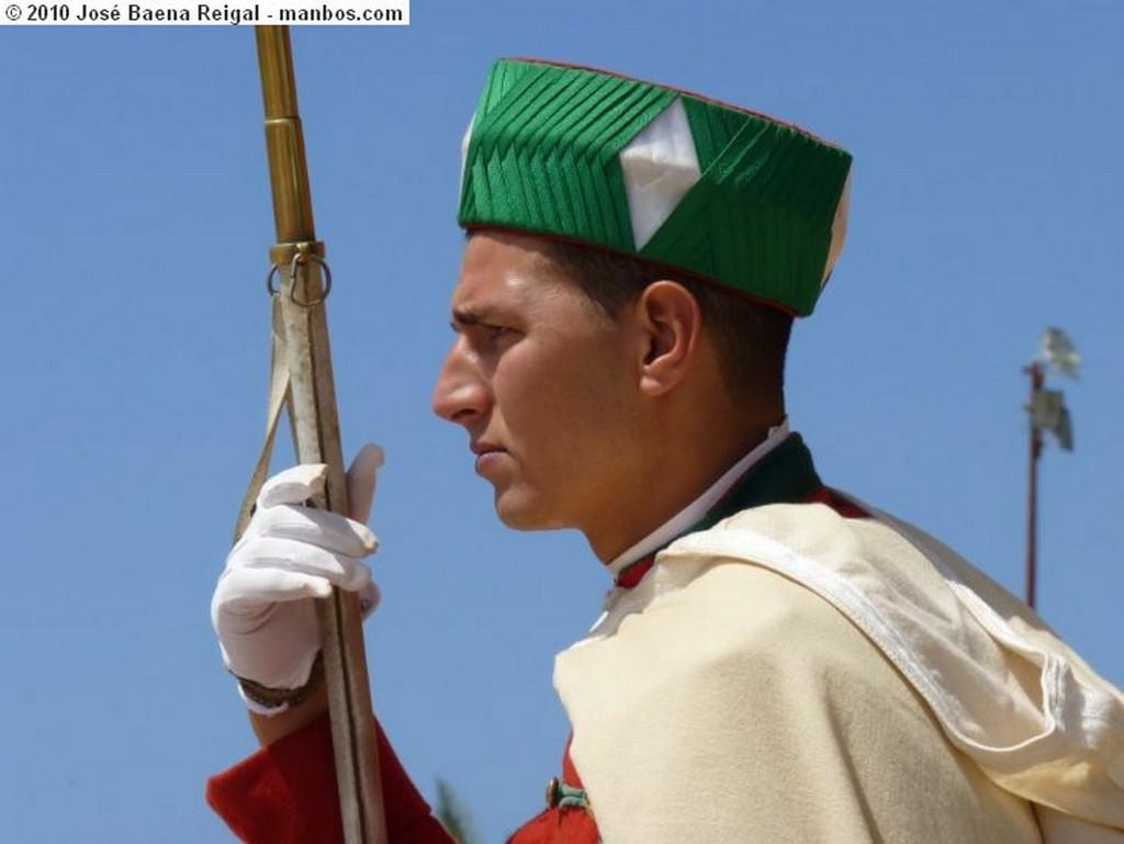 Rabat Escena en Chellah Rabat