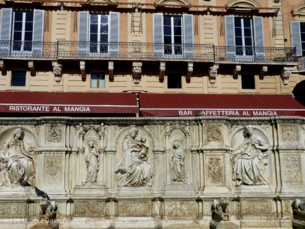 Siena Frontal espectacular Toscana