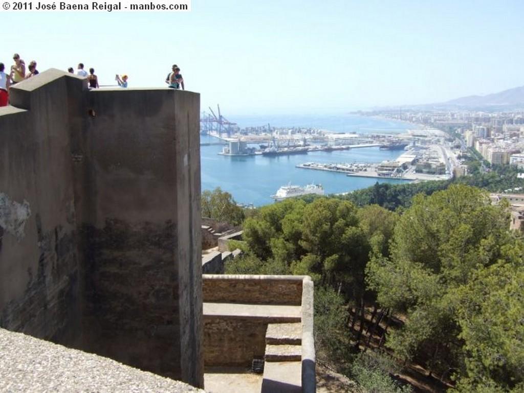 Malaga Panorama desde Gibralfaro Malaga
