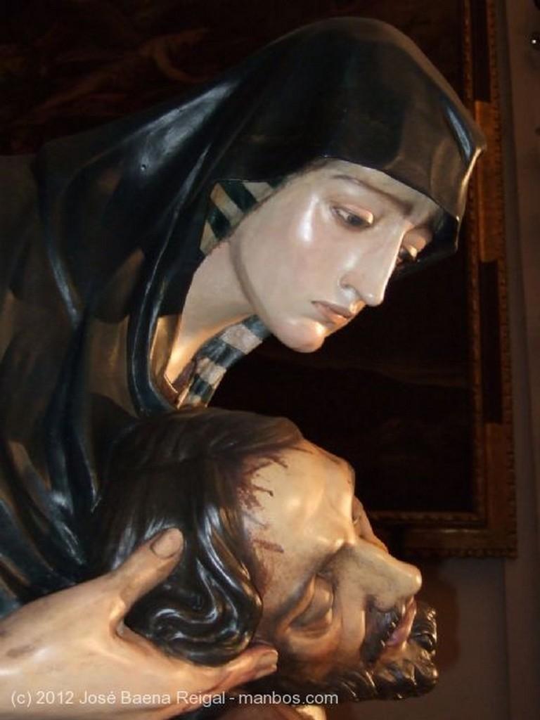 Malaga La Piedad, detalle del Cristo Malaga