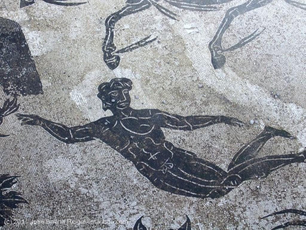 Ostia Antica Mosaico de Neptuno Roma