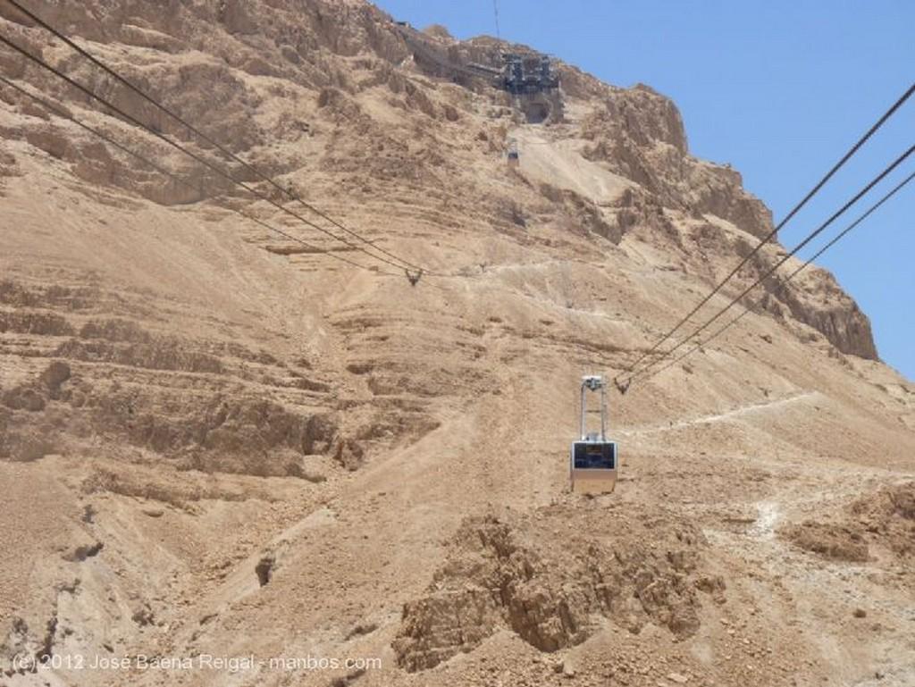 Masada Estacion del telesferico Distrito Meridional