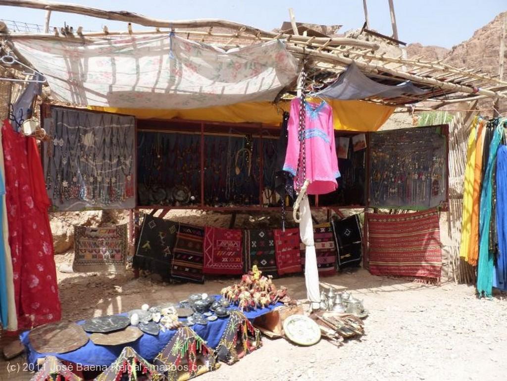 Gargantas del Todra Jaima y comedor Ouarzazate