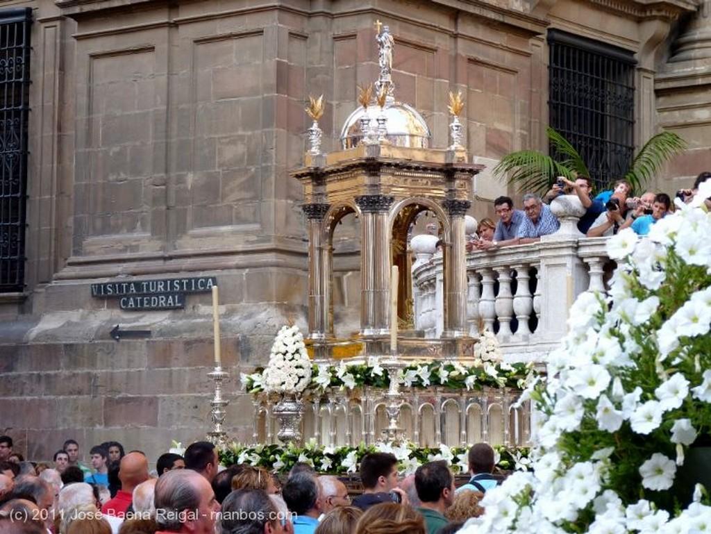 Malaga Carroza del Corpus Malaga