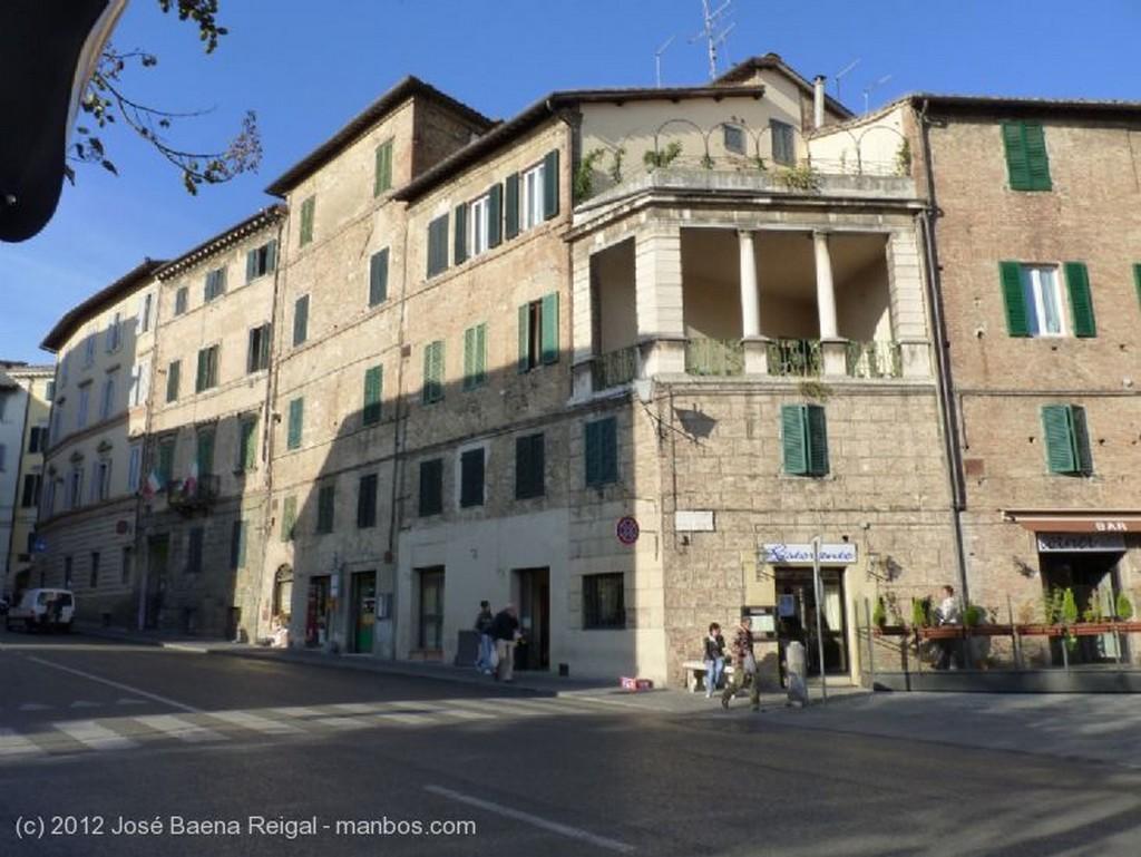 Siena Calles en pendiente Toscana