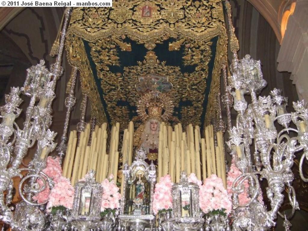 Malaga Semana Santa en la Catedral Malaga