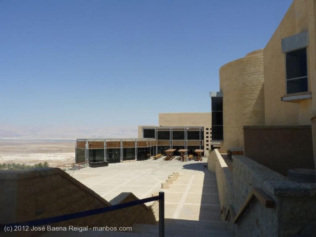 Masada A la espera del telesferico Distrito Meridional