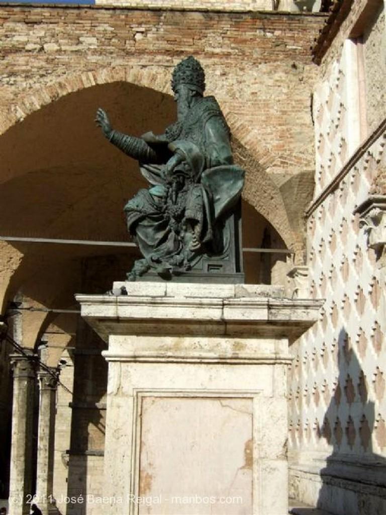 Perugia Calle medieval Umbria