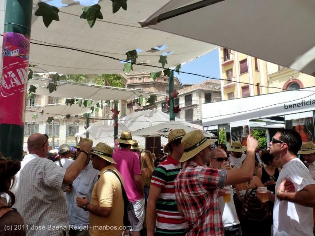 Malaga Feria del centro  Malaga
