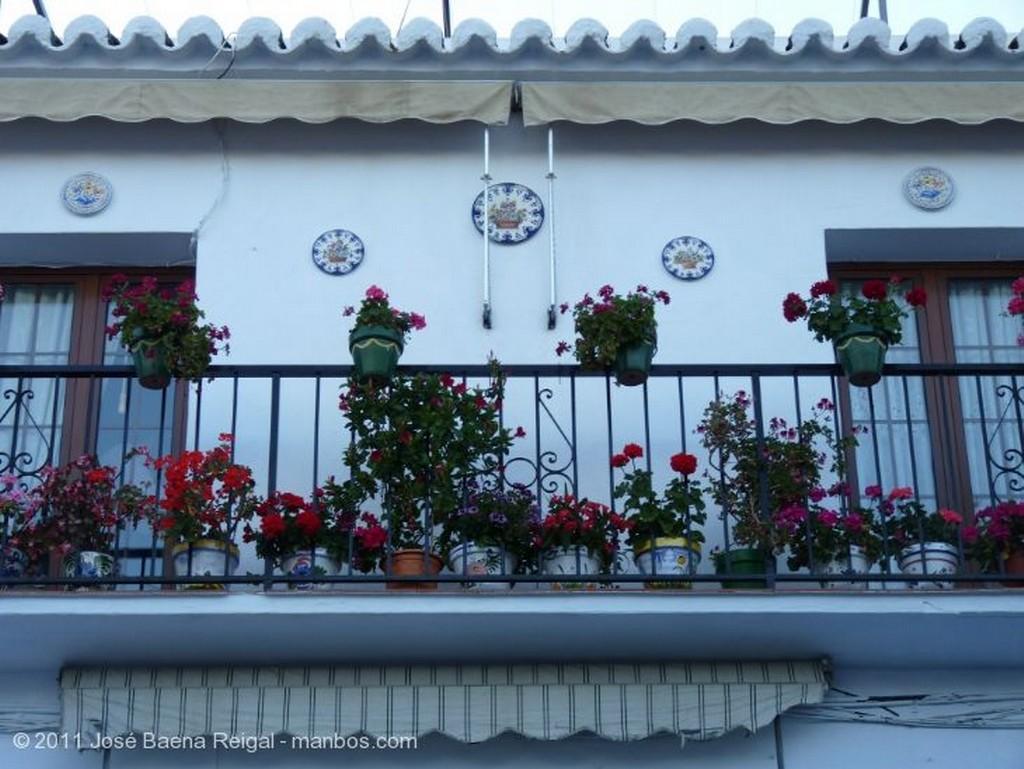Mijas Calle adoquinada Malaga