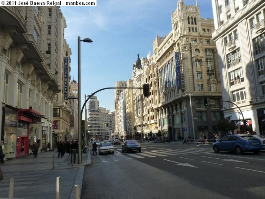 Madrid Gran Via Madrid