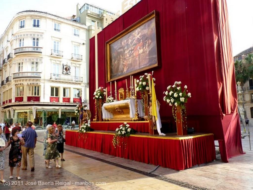Malaga Altar del Corpus Malaga